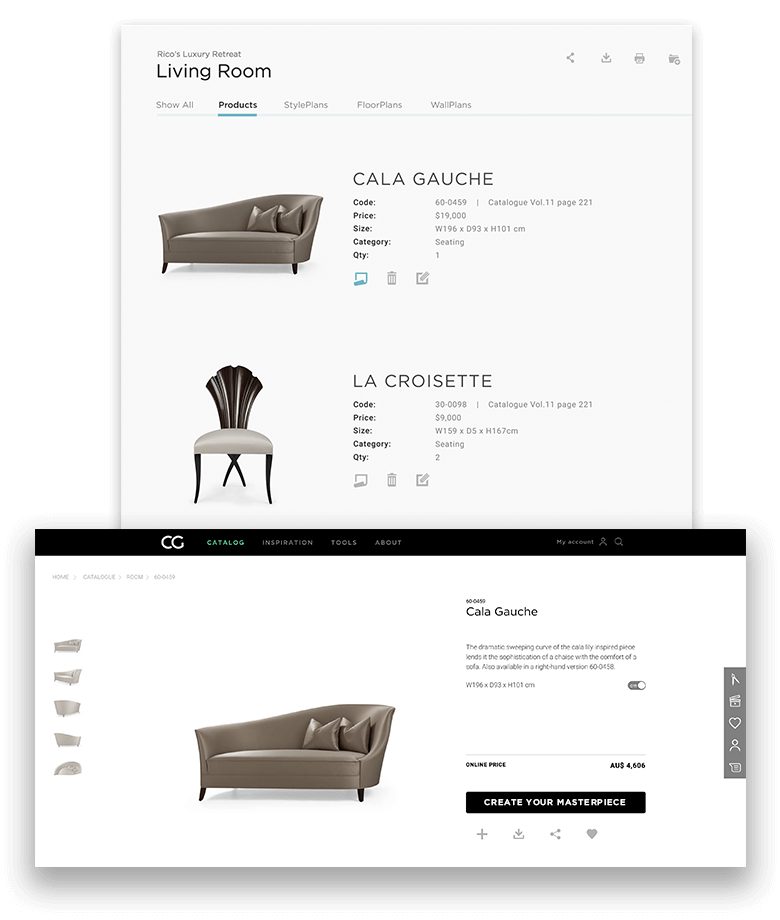 Organize proposals by projects.